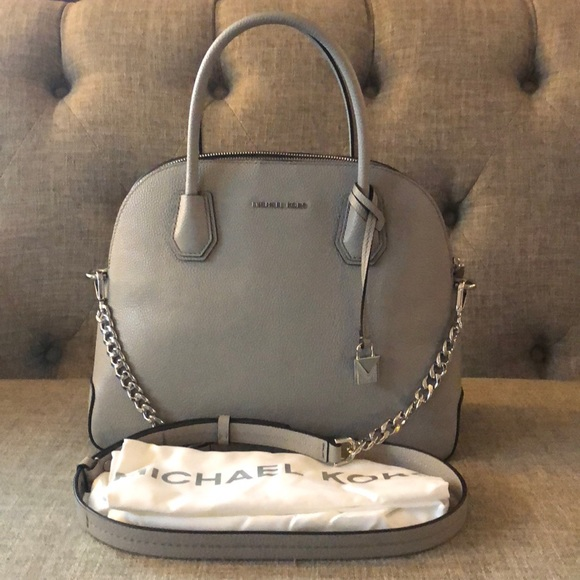95753bac158f Michael Kors Mercer Large Dome Satchel. M 5a8ae0a031a3766fcb988118